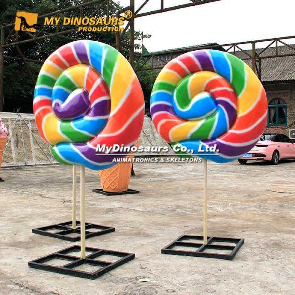 Giant Lollipop Sculpture 5