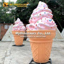 Large ice cream sculpture 2