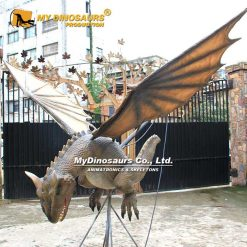 animatronic hanging dragon
