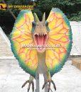 dilophosaurus head animatronic