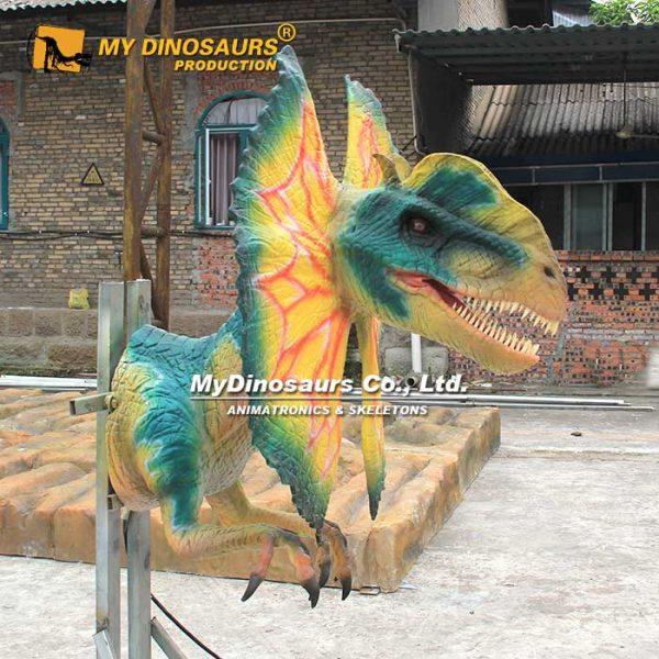 dilophosaurus head animatronic 2