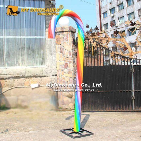 fiberglass candy crane 1