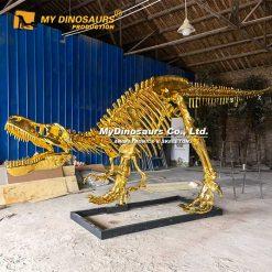 gold trex skeleton 1