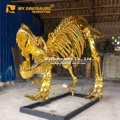 gold trex skeleton