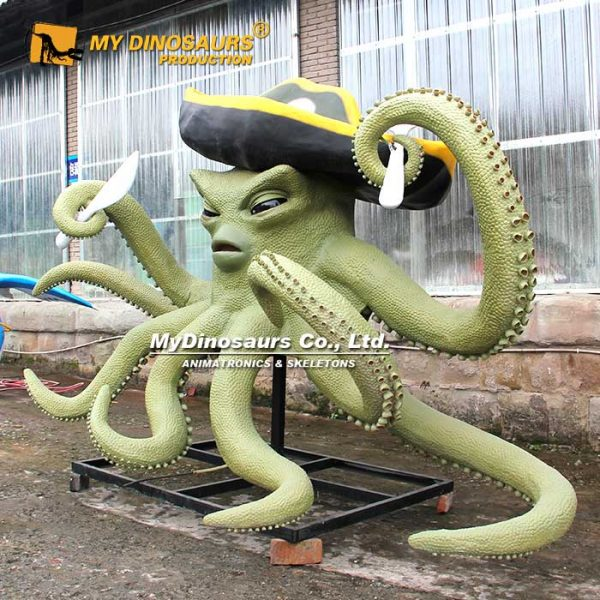 Animatronic Pirate Octopus 1