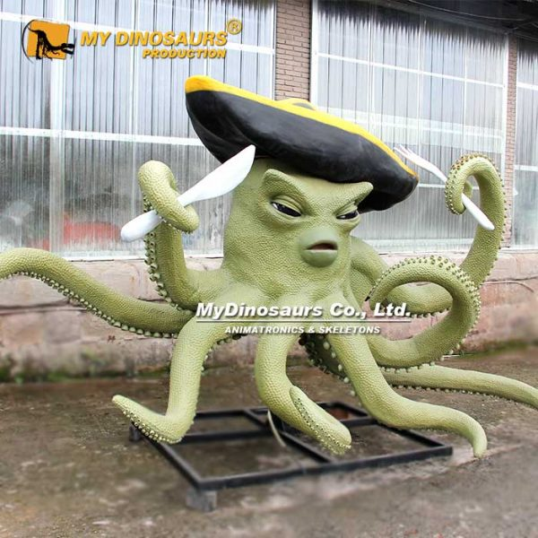 Animatronic Pirate Octopus 4