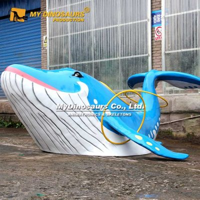 Custom Whale Statue 2
