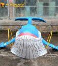 Custom Whale Statue 3
