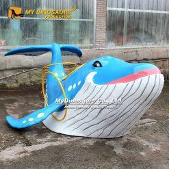 Custom Whale Statue 4