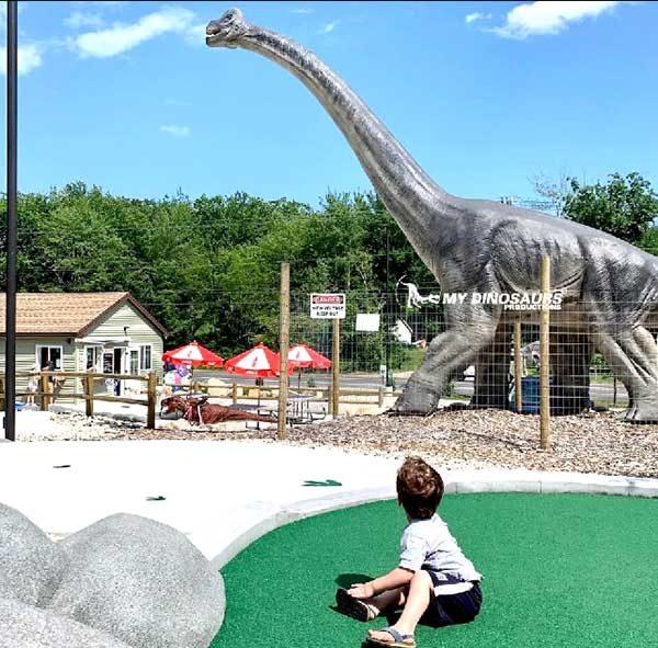 Encounter Dinosaurs in Mini Golf Course4
