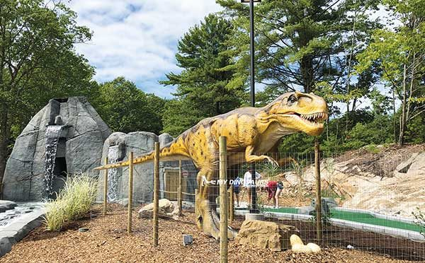 Encounter Dinosaurs in Mini Golf Course5