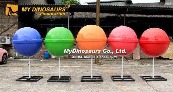 Giant Lollipop Sculpture 1