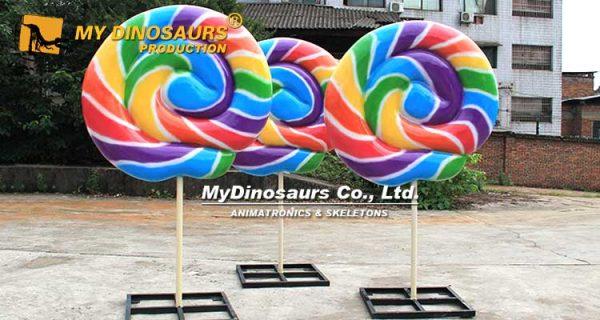 Giant Lollipop Sculpture 6