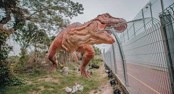 Singapore Changi Jurassic Mile 3