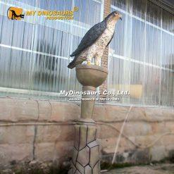 Fiberglass eagle sculpture 1