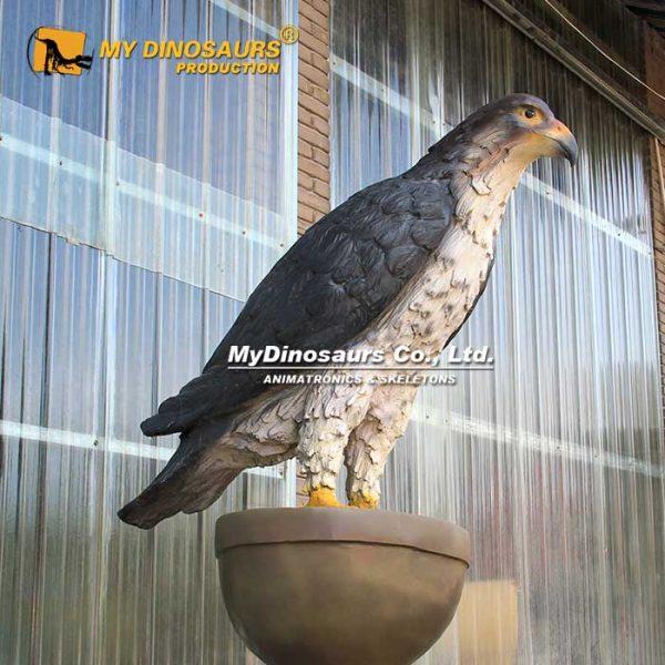 Fiberglass eagle sculpture 2