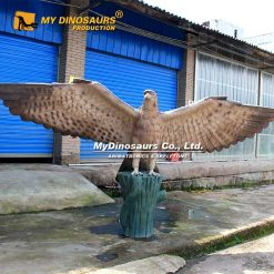 Fiberglass eagle statue 3